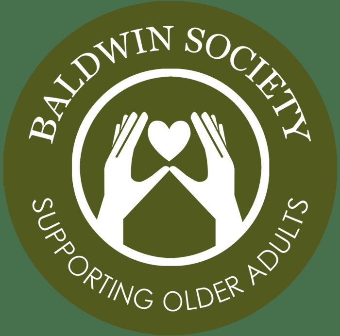 Baldwin Society Logo Green White